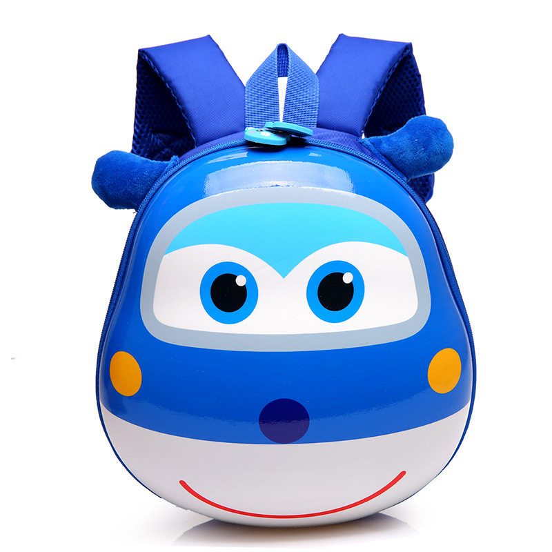 2017-new-Super-Wings-Cute-Kid-School-bags-Cartoon-Character-3D-Style-Children-Backpacks-Kindergarten-girls-boys-baby-backpack-2