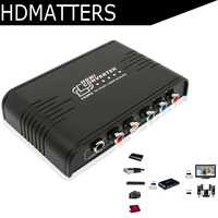 HDmatters HDMI to Ypbpr component coaxial audio video&audio converter for PS4 apple TV STB DVD PC laptop