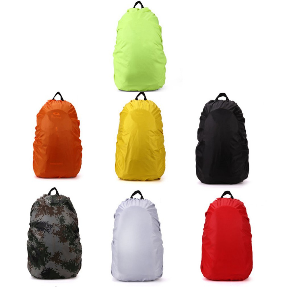 35 60 80L Waterproof Dustproof Rain Cover Professional Backpack Rainproof Cover Camping Hiking 2019 NEW Good Quantity