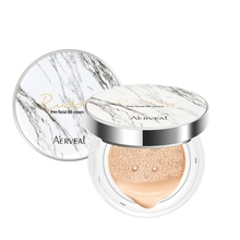 Air Cushion Marble BB Cream Nude Makeup Concealer Moisturizing Foundation Non Blooming Easy to Wear