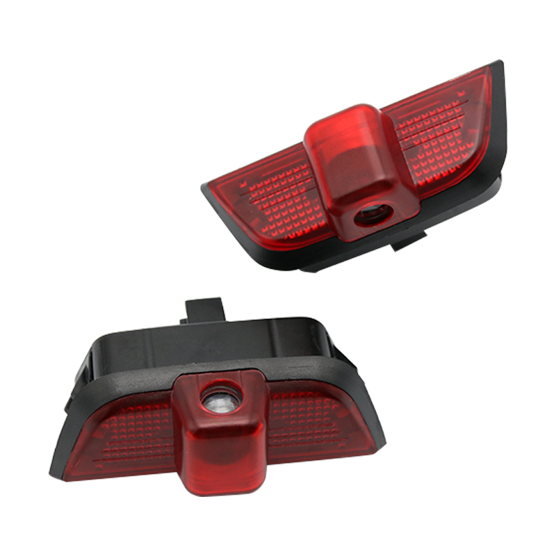 2 Pcs LED Door Logo Welcome Light Laser Projector Ghost Shadow Light for <font><b>Mercedes</b></font> <font><b>Benz</b></font> <font><b>W204</b></font> C Class C180 <font><b>C200</b></font> C350 image