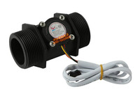 1pc DN40 1.5 inch water flow sensors Hall turbine flowmeter