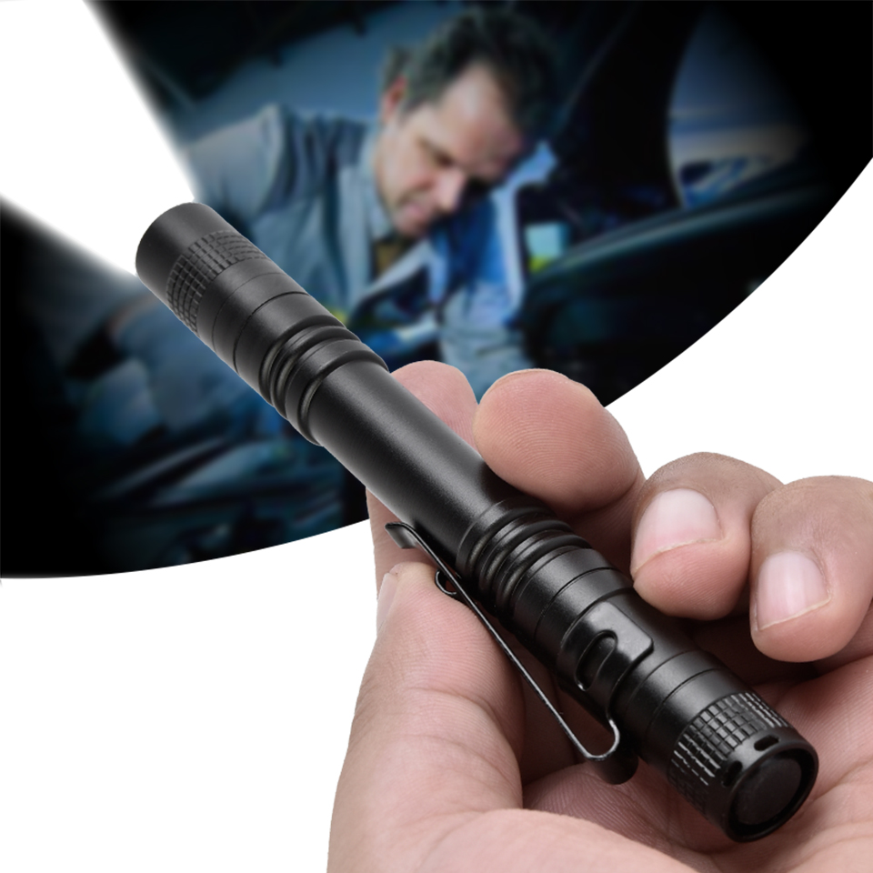 Led Flashlight Rechargeable Waterproof Shock Resistant