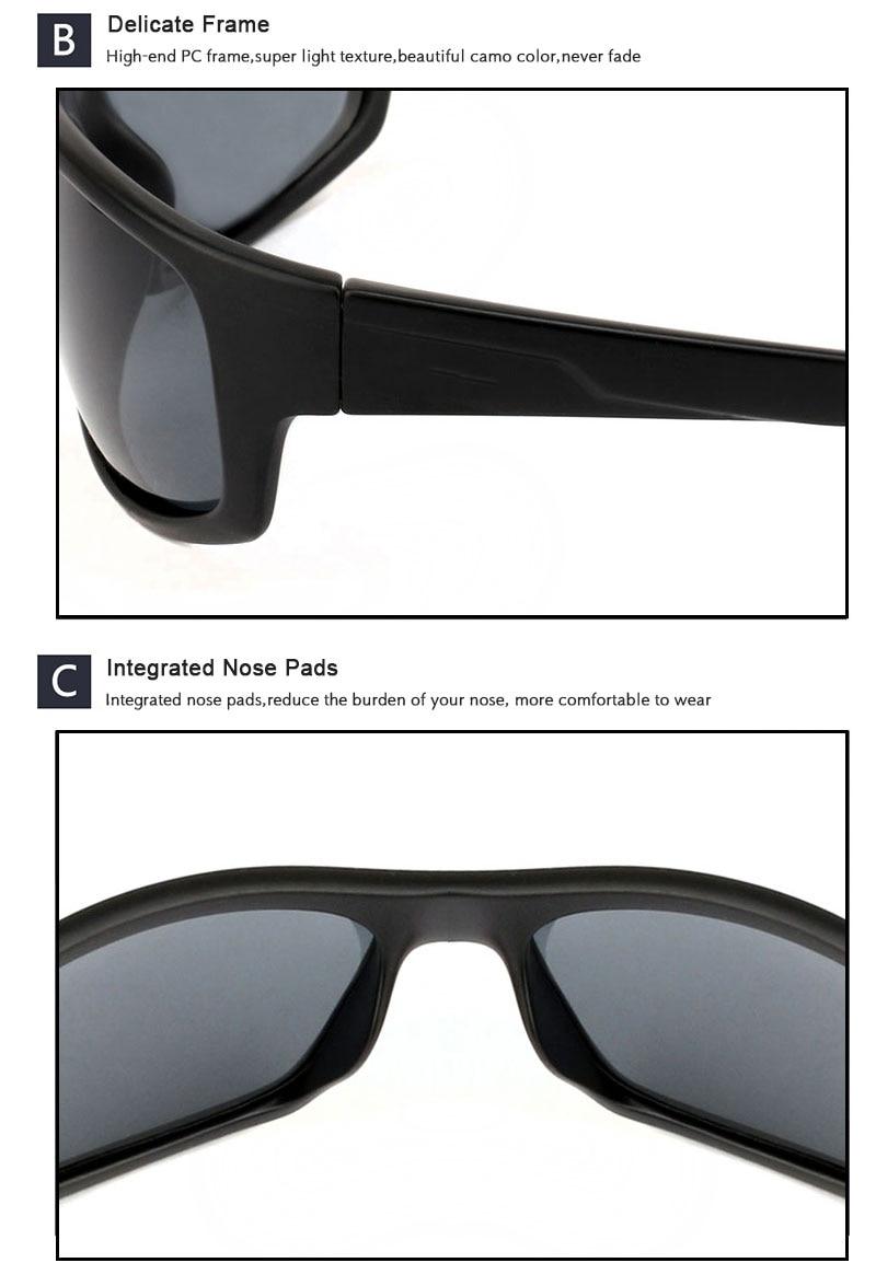 JIANGTUN, спортивные солнцезащитные очки, поляризационные, для мужчин и женщин, фирменный дизайн, для вождения, рыбалки, Полароид, солнцезащитные очки, черная оправа, Oculos De Sol