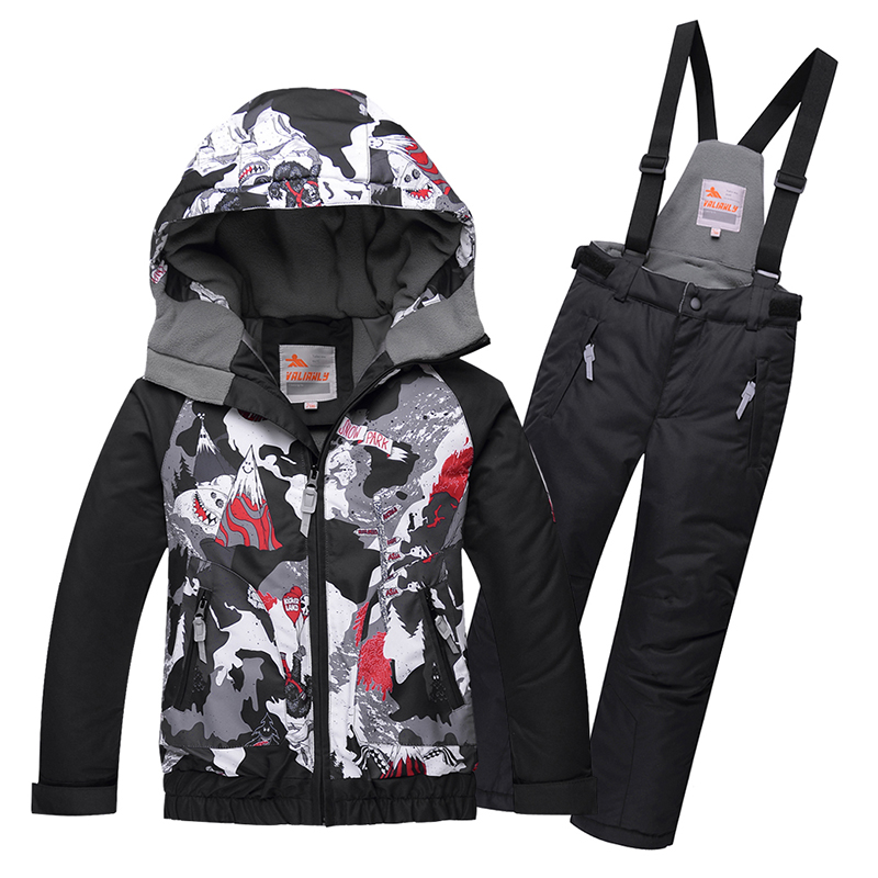 2019 New Kids Boys Girls Snowsuit Winter Ski Suit For Kids Outdoor Snow Sets Hooded Ski Jacket Pants Children Snowboard Sets 2019 New Kids Boys Girls Snowsuit Winter Ski Suit For Kids Outdoor Snow Sets Hooded Ski Jacket Pants Children Snowboard Sets