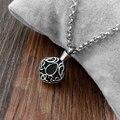316L Stainless Steel Necklace Memorial Cremation Urn Necklace Locket Pendant Bone Ash Jewelry For Women Colgante De Collar N-266