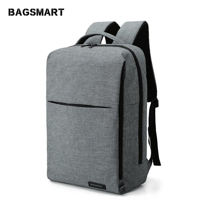BAGSMART Nouveau sac à dos pour ordinateur portable Multifonction Sac À Dos 15.6 Pouces sac à dos pour ordinateur portable pour Femmes Hommes cartable sac à dos pour mochila mâle