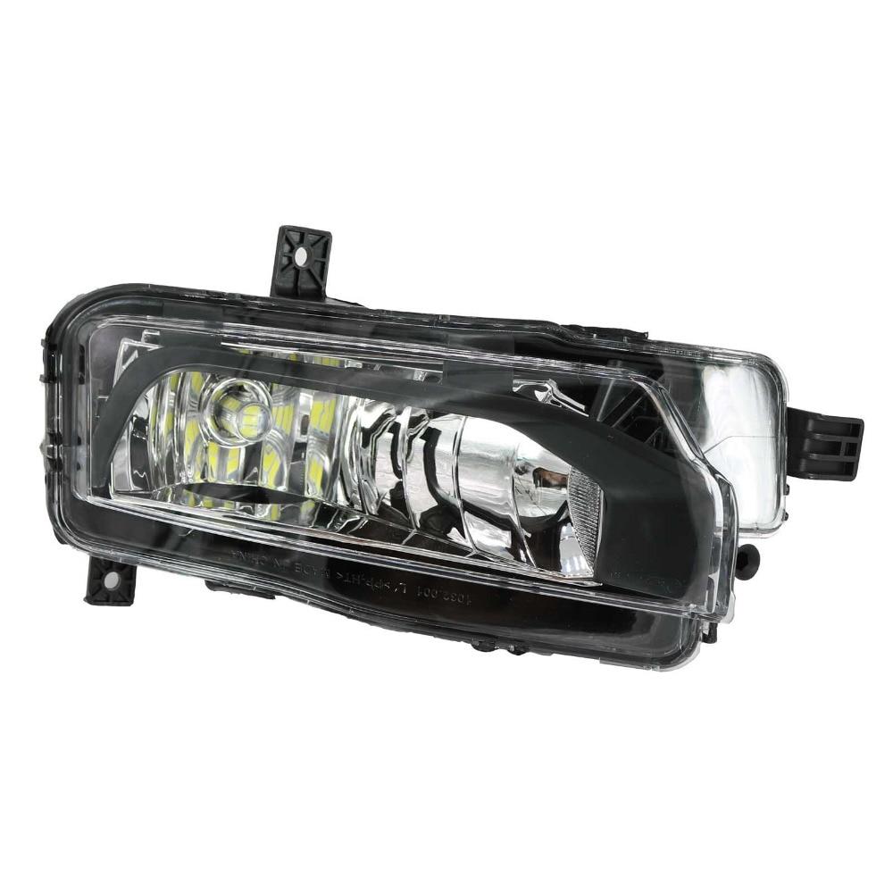 Светодиодный свет для Фольксваген Транспортер Т6 Т7 Campmob автомобиль-стайлинг Мультивен 2016 2017 передний левый Светильник тумана СИД свет тумана