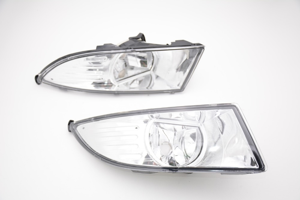 1Pair New Front Halogen Fog Lamp Fog Light Left And Right Side For Skoda Fabia 2011-2014