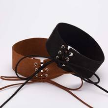 Sexy Lace Up Gothic Choker Necklace