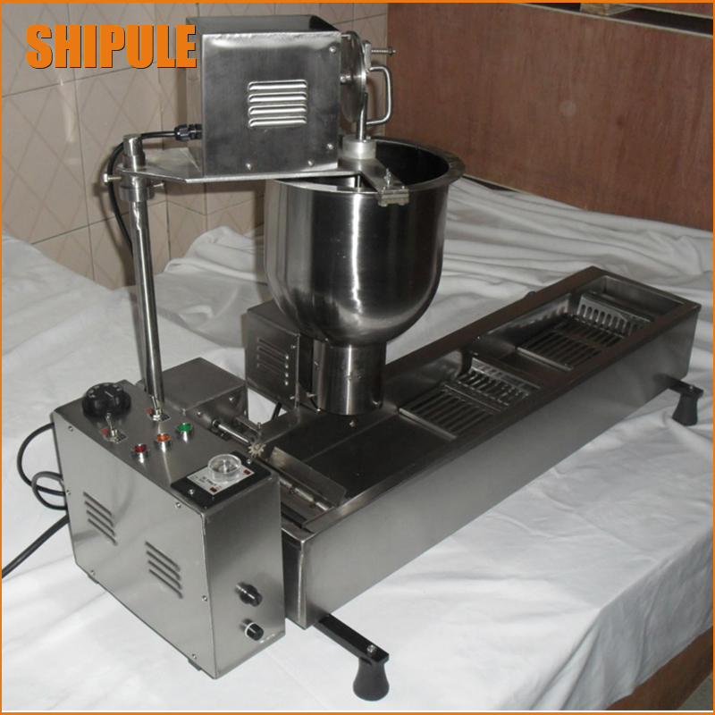 automatic donut making and frying machines with 3 mold free shipping donut making frying machine with electric motor free shipping to us canada europe