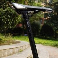 Twtopse 사이클링 31.8mm 탄소 섬유 mtb 자전거 자전거 좌석 포스트 brompton 접는 자전거 580mm 자전거 시트 포스트 티타늄 볼트 230g