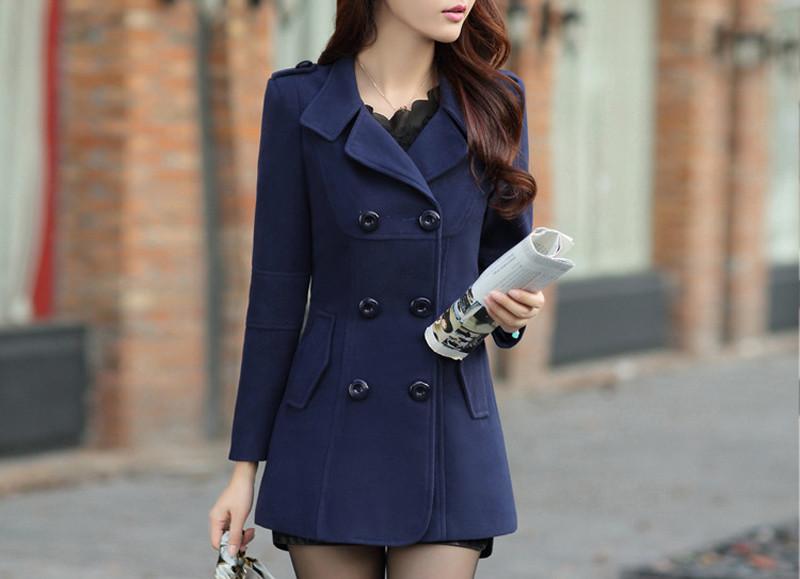 women blended coat WWN717 (3)