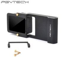 PGYTECH osmo eylem mobil zhiyun Kahraman 7 6 5 4 3 Adaptör + xiaoyi pürüzsüz Q aksesuar anahtarı montaj plakası kamera Gopro parçaları