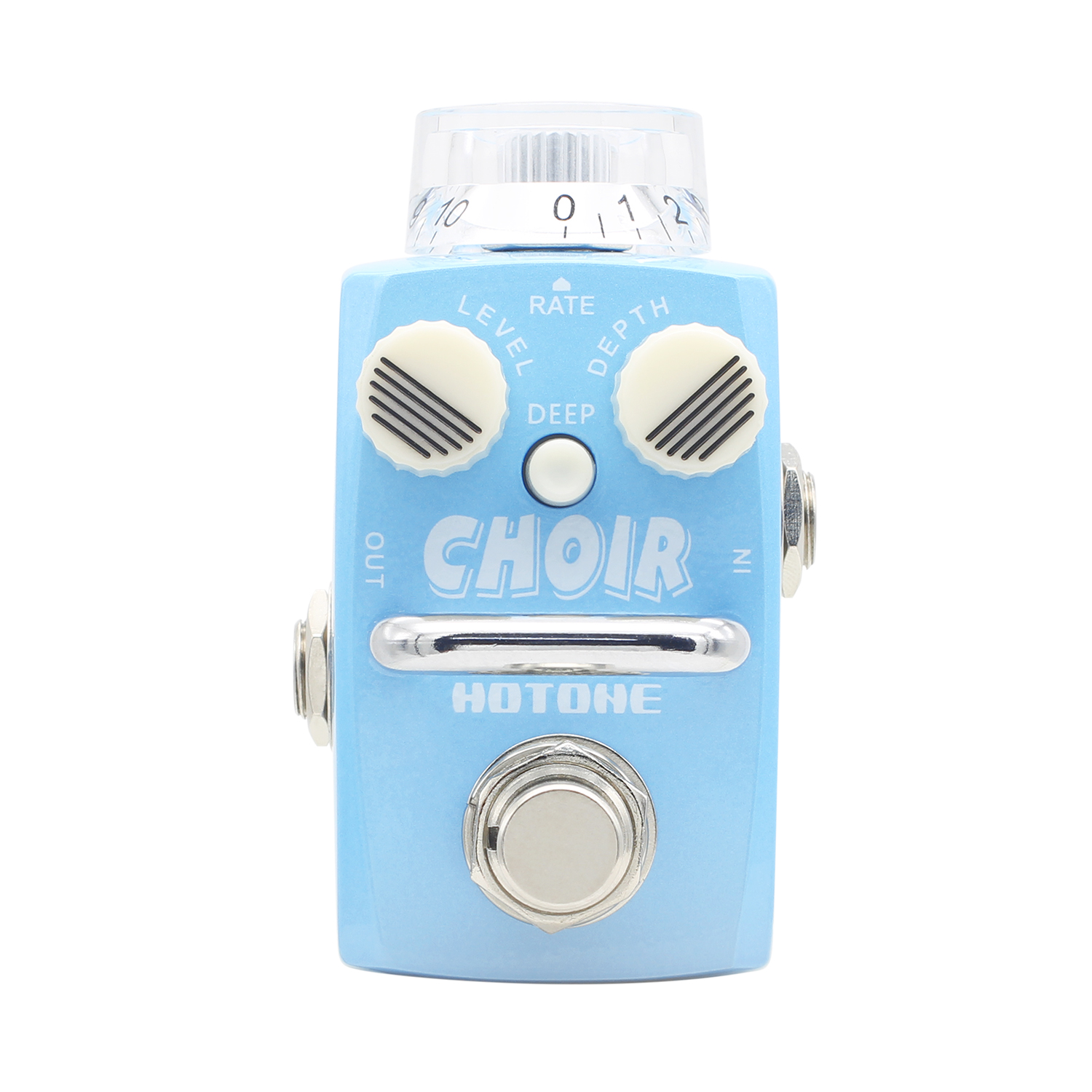 Hotone CHOIR Chorus Effect Pedal Inspired by Jazz-Chorus amplifier Analog Effects Stompbox for Electric Guitar True Bypass mooer mini ensemble king electric guitar effect pedal true bypass pure analog chorus sound