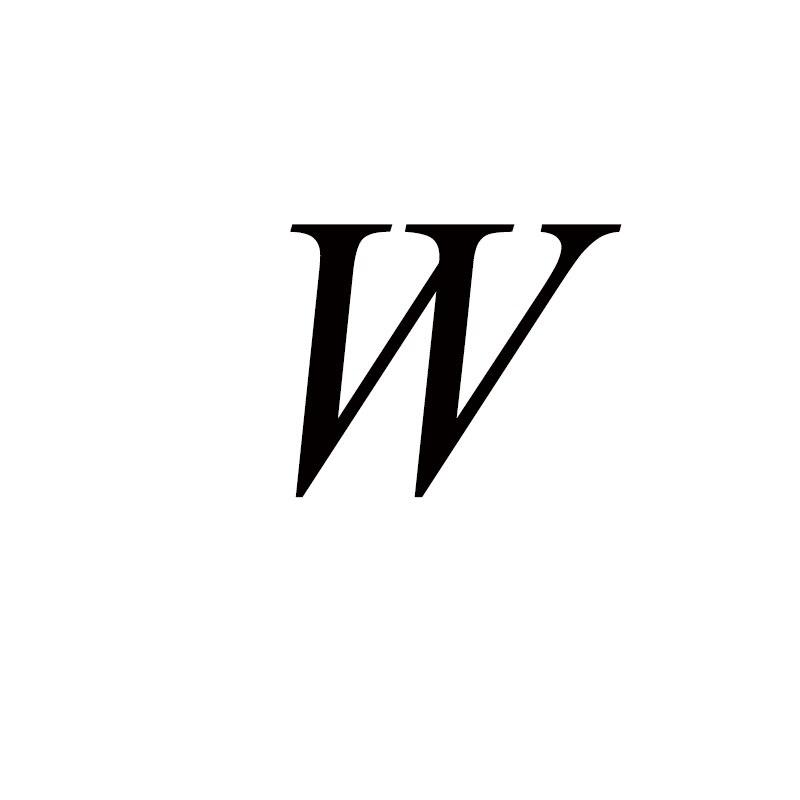 Персонализированные ручные штампованные A-Z, 26 букв, начальные крошечные кольца в виде сердца для женщин, золотые кольца на палец, ювелирные изделия - Цвет основного камня: W