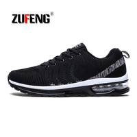 Air Cushion Running Shoes for Men Max Breathable Mesh Sneakers Lightweight Comfortable Professional Athletics Sport Shoes