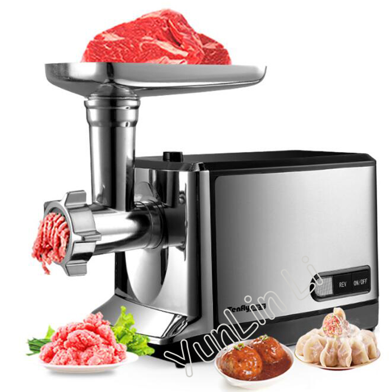 Household Meat Grinder Stainless Steel Meat Mincer Electric Mincing Machine THMGF500A newest 60 kg hour 220v electric ce commercial meat grinder meat mincer stainless steel electric meat grinder machine