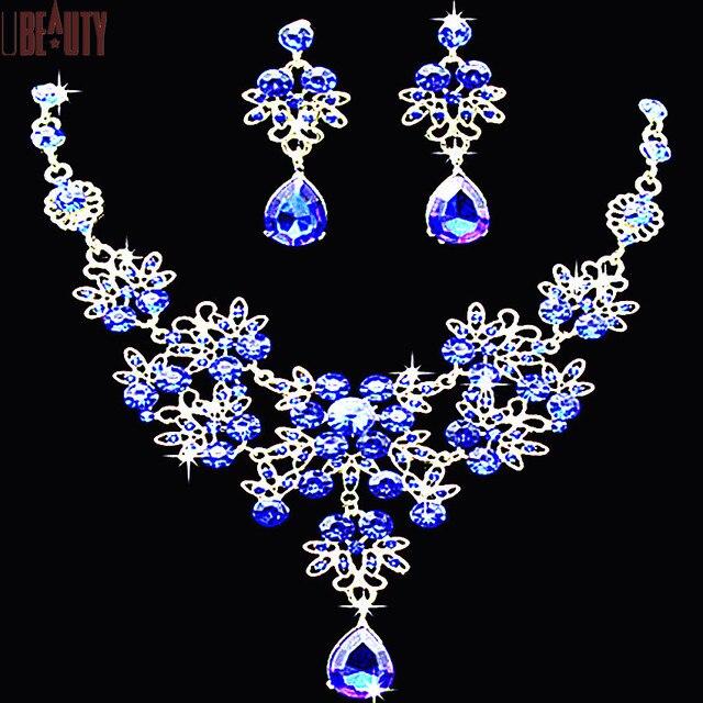 for Sswarovski Set Fashion Jewelry set Bride Butterfly Water Drops
