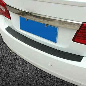 1х накладка на задний бампер для автомобиля, наклейка, полоса, защитная Накладка на порог багажника, Накладка для автомобиля, Внешние детали, Стайлинг, молдинги