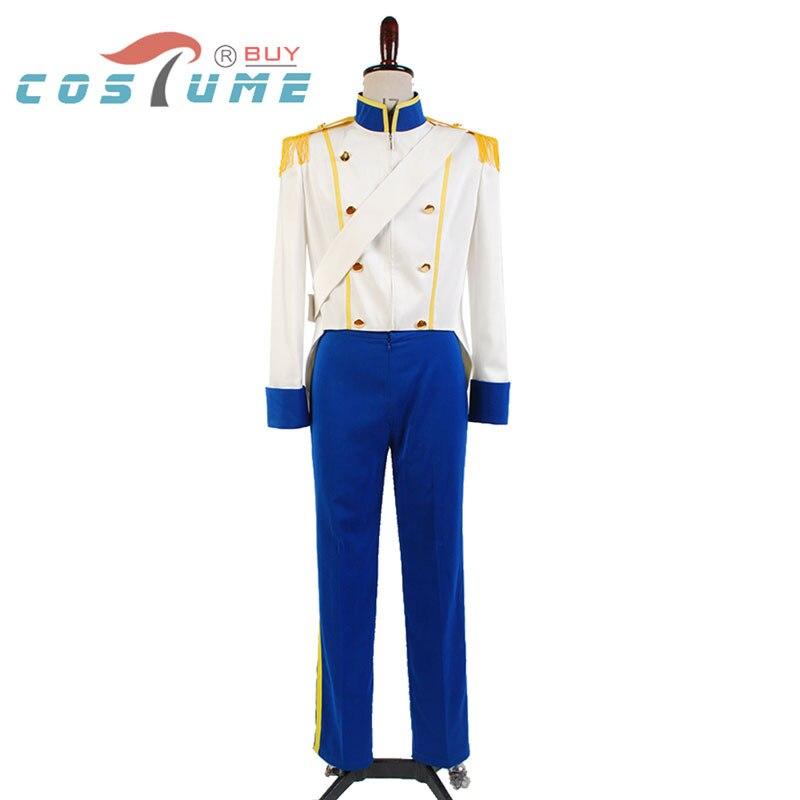 ᗚLa pequeña sirena 1989 Príncipe Eric traje Cosplay traje de ...