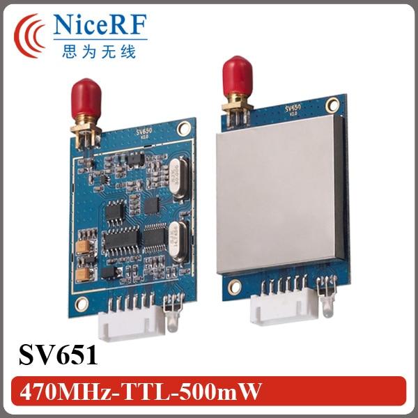 imágenes para SV651 TTL Interfaz de 470 MHz RF Módulo Transmisor Y Receptor de Datos Inalámbrica