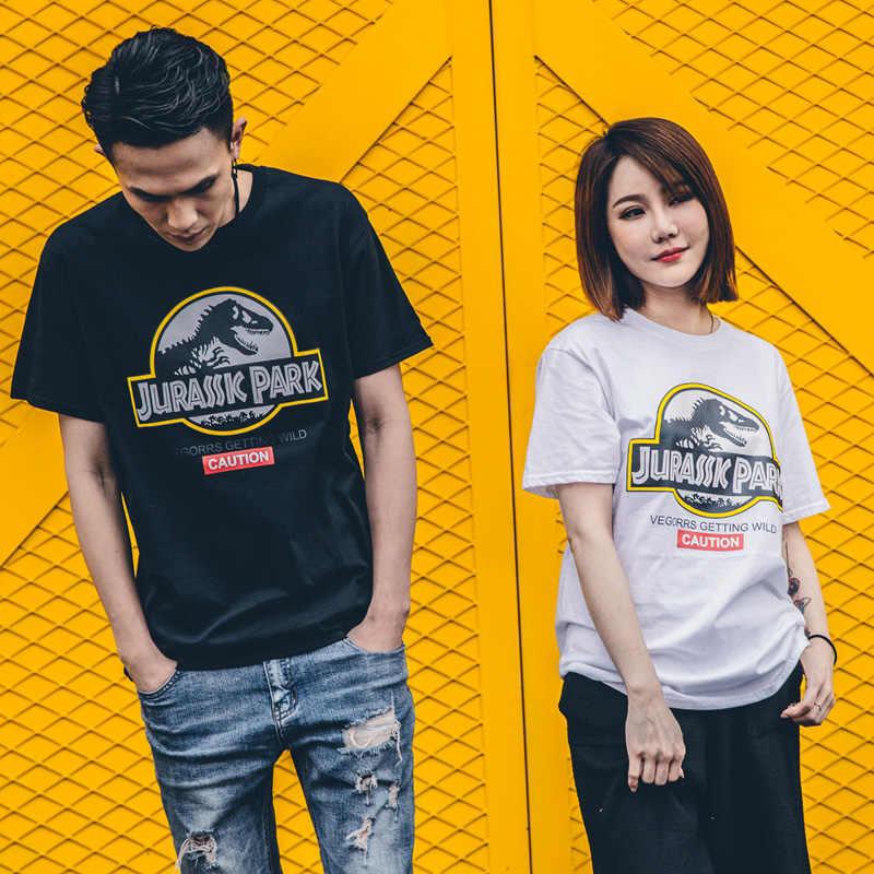 LORDXX Jurassic park t-shirt Zomer Hots tumblr o-hals Hip hop Gedrukte t-shirt korte mouw instagram stijlvolle tops vrouwen 2018