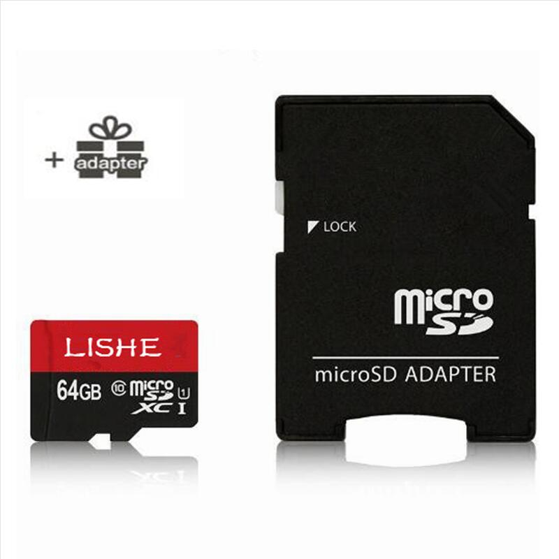 Original LISHE 60MB/s Micro SD Card 64GB 32GB U1 Class 10 Memory Card 64 Microsd TF Card Multi-function adapter For Smartphone