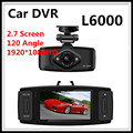 L6000 Car DVR GPS Camera HD 1080P 120 Degree View Angle with H.264 video Code Support G-sensor + Motion Detection Free shipping