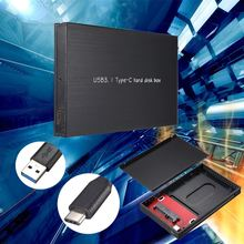 Brand New TYPE C Usb3.1 Hard Disk Box HDD External Enclosure For Notebook HDD Hard disk Mobile Box SATA Tool 2.5Inch HDD