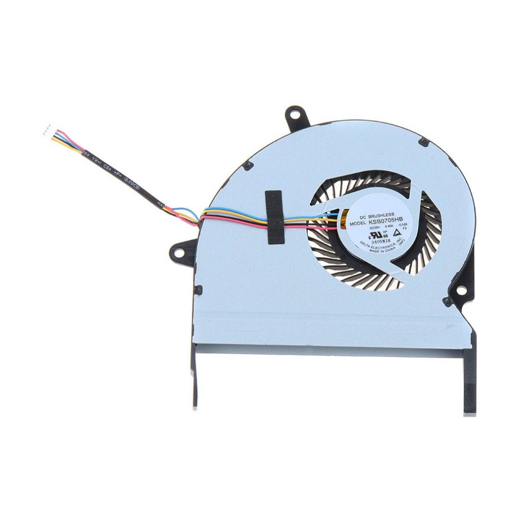 все цены на  Notebook Computer Replacements Cpu Cooling Fans Fit For ASUS X401A 4 Pin DC 5V Laptops Accessories Cpu Cooler Fans VCF92  онлайн