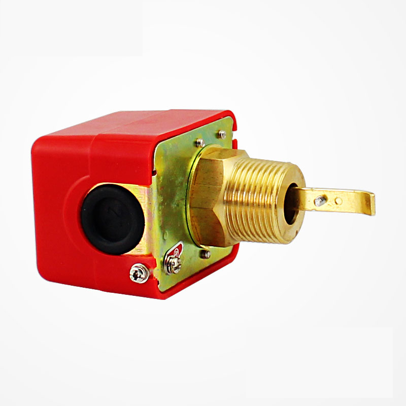 1 inch 1/2'' 3/4'' DN25 Male Thread SPDT Water Paddle Flow Switch HFS-25 for 220VAC 3A Water Flow Sensors Flow Paddle Water Pump rotary paddle switches for solid adjustable paddle switch