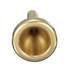 Gold Plated Baritone Trombone Mouthpiece 6.5AL Copper Alloy Design Trumpet Accessories Musical Instrument Practice For Beginner