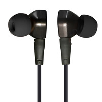 Original KZ IE80 KZ IE80 Ie800 Super Bass DIY Metal Earphone 3 5mm In Ear Earbuds