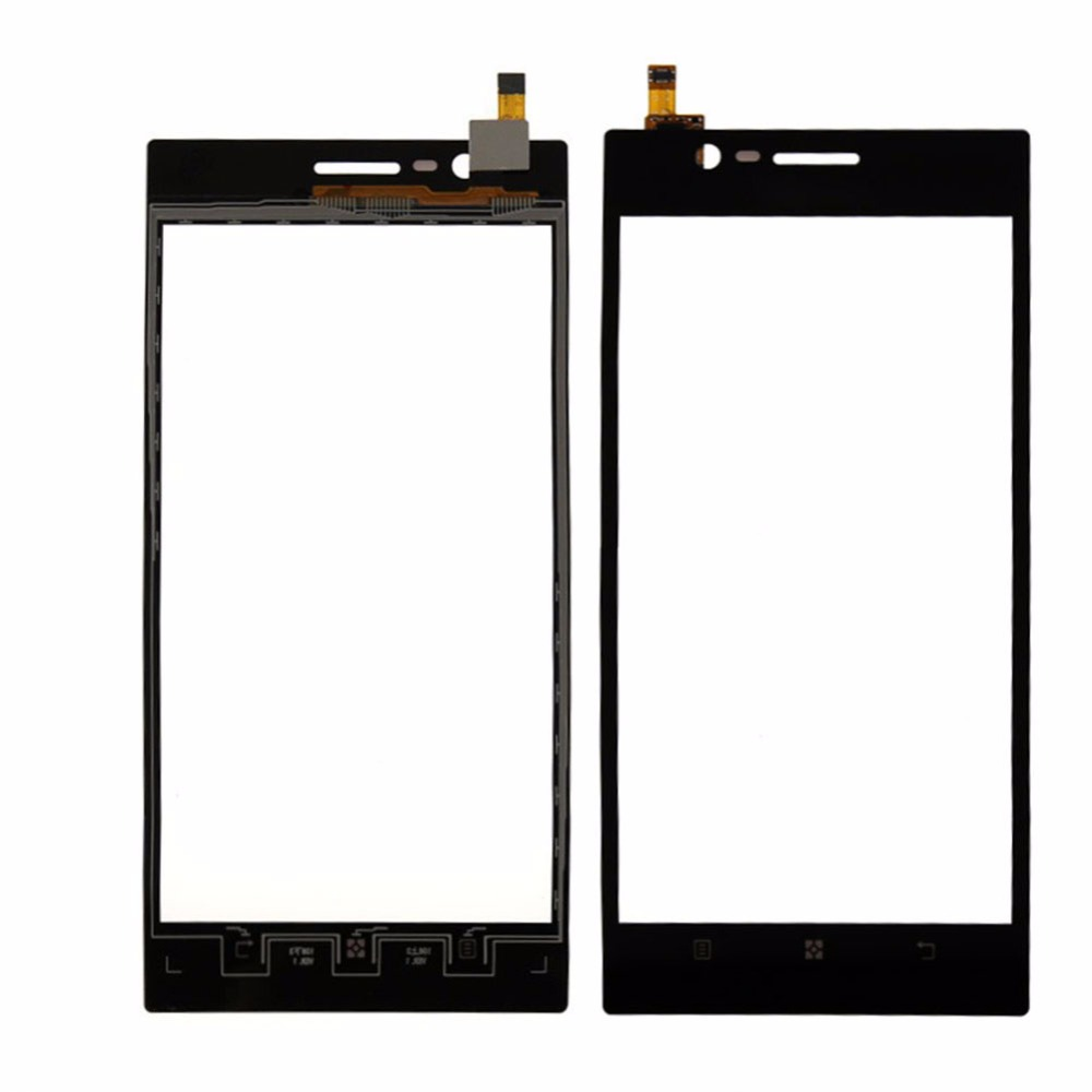 New Black Touch Screen Panel Digitizer Glass Display For Lenovo K900 Touchscreen Replacement Parts Repair Free Shipping touch screen glass panel for mt508tv 5wv repair new