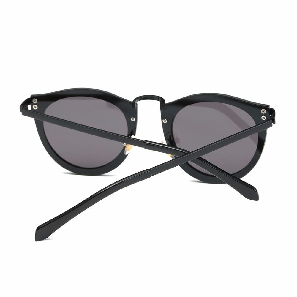 AEVOGUE Solglasögon Kvinnor Metallram Classic Retro Pilar Dekorerad - Kläder tillbehör - Foto 5