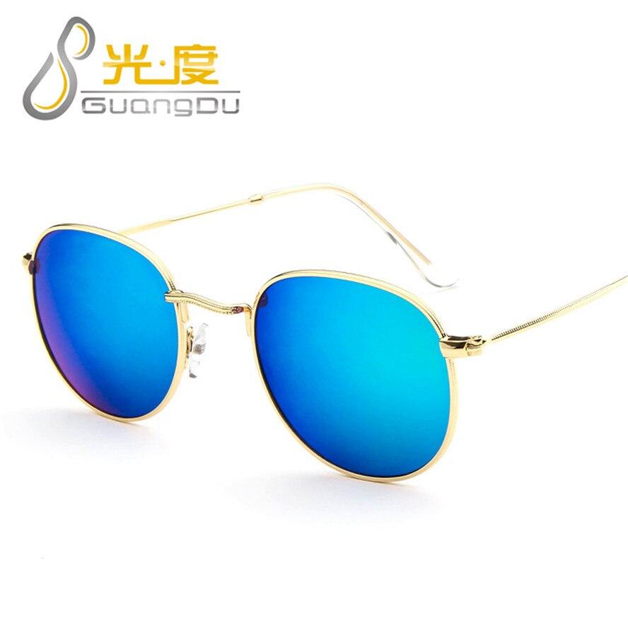 Aviator sunglasses for small face - Guangdu 2017 Women Sunglass For Small Face Classic Round Sunglasses Women Brand Designer Sun Glasses Oculos