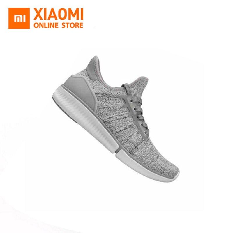 Xiaomi Mijia chaussures de sport intelligentes de haute qualité mode professionnelle IP67 étanche puce téléphone APP données de contrôle à distance