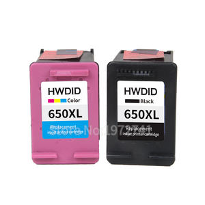 Image 2 - HWDID 650XL תואם דיו מחסנית החלפה עבור HP 650 עבור HP Deskjet 1015 1515 2515 2545 2645 3515 3545 4515 4645