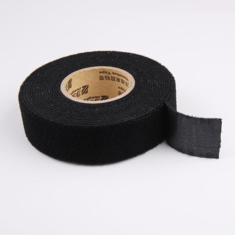 16mmx15m Universal Flannel fabric Cloth Tape automotive wiring harness Black Flannel Car Anti Rattle Self Adhesive Felt Tape16mmx15m Universal Flannel fabric Cloth Tape automotive wiring harness Black Flannel Car Anti Rattle Self Adhesive Felt Tape