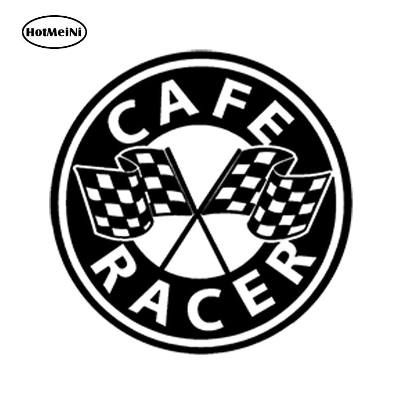 Us 102 45 Offhotmeini Car Styling Car Sticker Cafe Racer Aufkleber Auto Moto Stickers Zielflagge Motorrad Rennen 13cm X 13cm In Car Stickers From