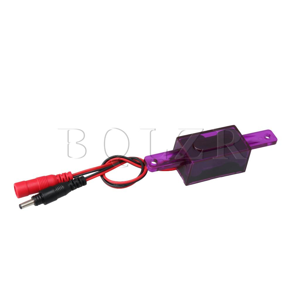 BQLZR 9.5x2.3x2.1cm DC 6V Urinal Flush Valve Sensor Toilet Control Valve Replace Part 3x1cm Sensor Purple