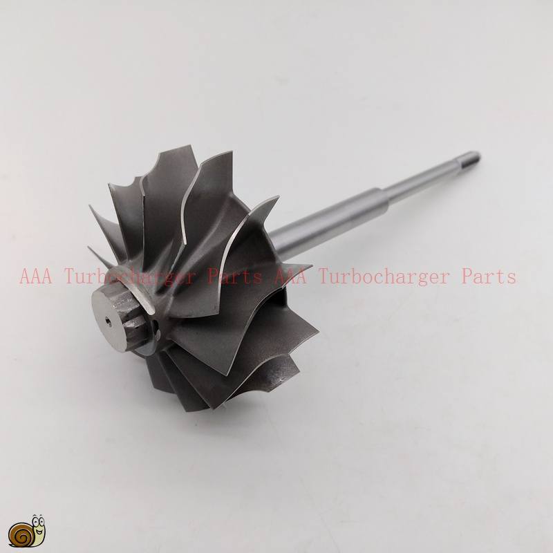 HX55 short shaft 1 groove Turbine wheel 77x86mm 12blades Turbo parts supplier by AAA Turbocharger Parts