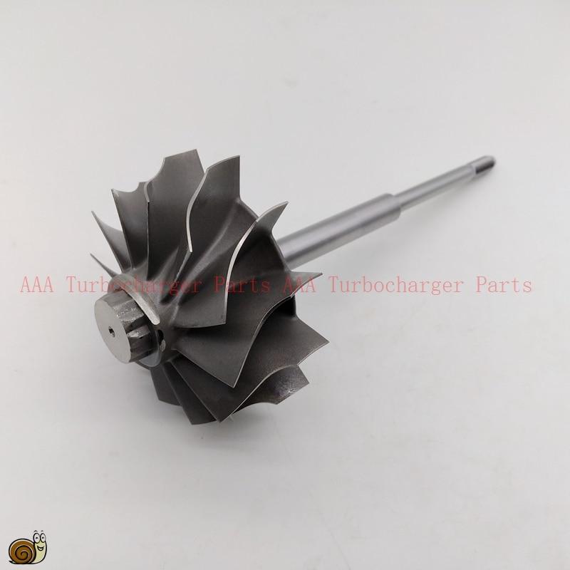 HX55 arbre court 1 rainure, roue de Turbine 77x86mm-12blades, Turbo pièces fournisseur par AAA Turbocompresseur Pièces