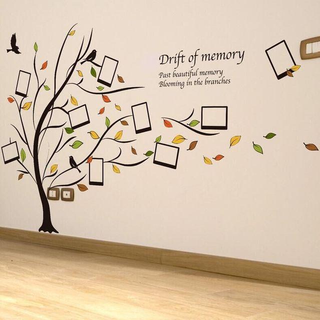 foto kreatif bingkai wall sticker pohon vinyl wall stiker untuk