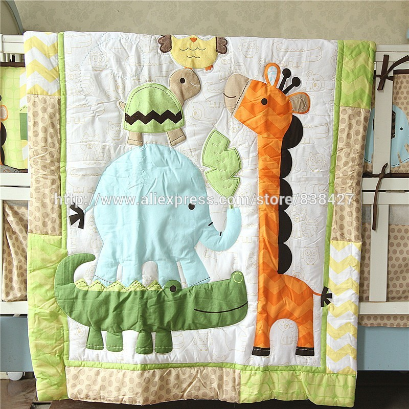 Bedding Sets Ups Free Set Bed Linen Baby Ropa De Cama Infantil Quilt Sheet Bumper Bed Skirt Included Last Style Mother & Kids