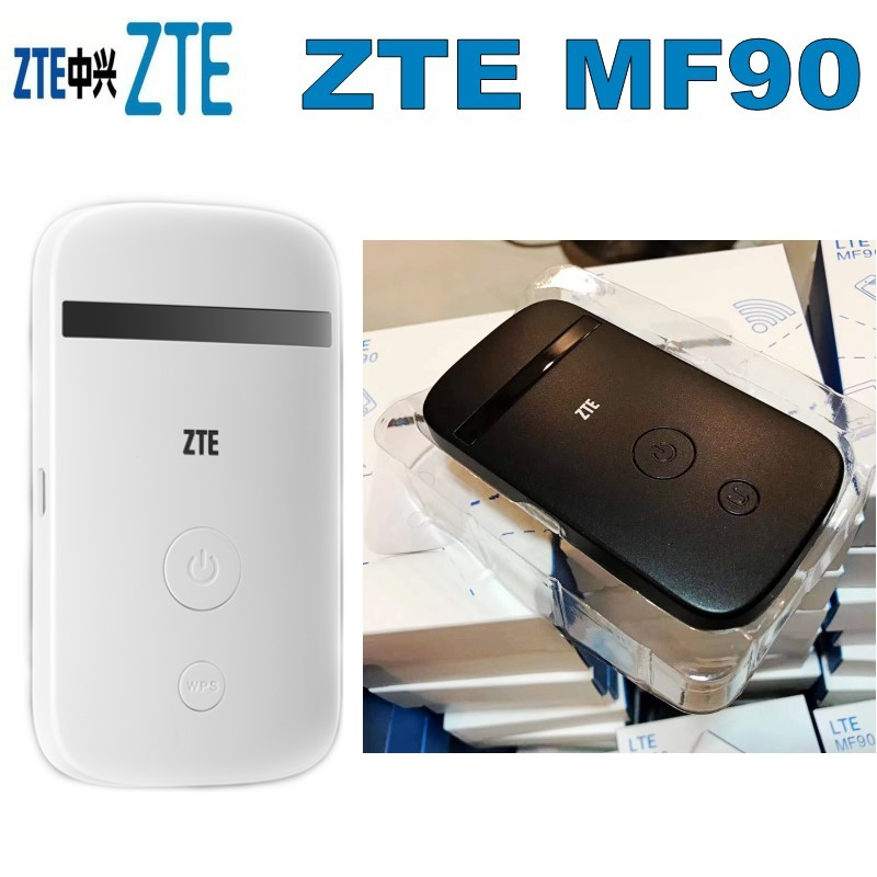 <font><b>ZTE</b></font> <font><b>MF90</b></font> Hotspot Wireless WiFi <font><b>LTE</b></font> <font><b>4G</b></font> 3G Mobile <font><b>Router</b></font> Modem <font><b>UNLOCKED</b></font> image