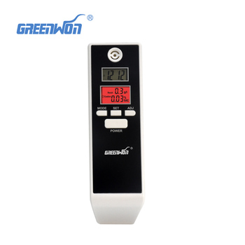 Dual LCD Display Digital Alcohol Tester and Timer Analyzer Breathalyzer