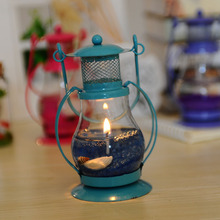 Gel Wax Scented Candles Retro Portable Lights With Sea Shell  Wedding Party Decoration Candles & Holders Home Decor