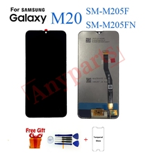Для samsung M20 M205 SM-M205F M205FN Дисплей ЖК Экран Замена для samsung M205F M205FN Дисплей ЖК Экран модуль